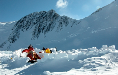 Denali Expedition: Haugen & Team Hanging at High Camp