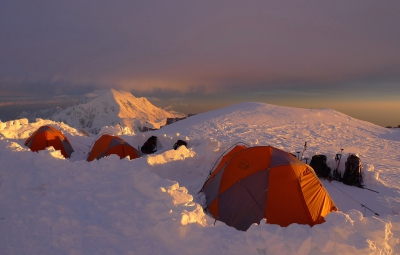 Denali Expedition: Hahn and Team Rest and Acclimate at 17,000'