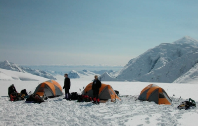 Mt. McKinley: Hahn and Team Move to 9,500'