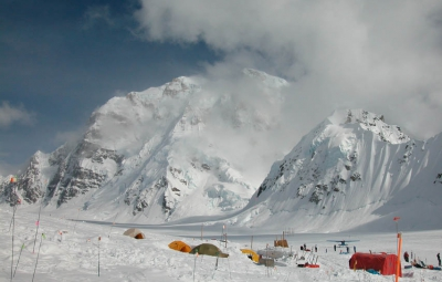 Denali Expedition: Young & Team Fly Onto Kahiltna Glacier