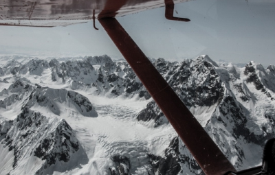 Denali Expedition: Hailes and Team Fly Onto the Kahiltna Glacier