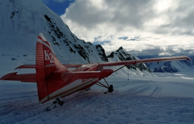 Denali Expedition: Hahn & Team Land on the Kahiltna Glacier