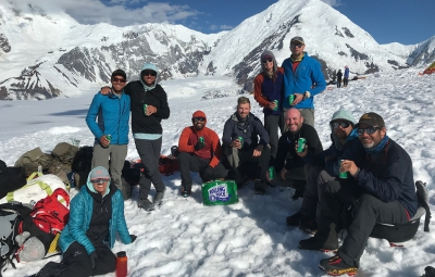 Denali Expedition: King & Team Celebrate Back in Talkeetna
