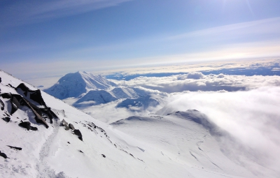 Denali Custom Expedition: Dave Hahn Recaps Summit Day, Team Returns to High Camp