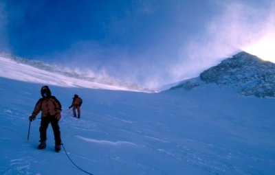 Mt. McKinley: Haugen & Team Turn Below the Summit