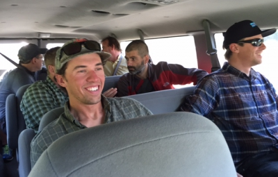 Mt. McKinley: Dave Hahn & Team Arrive in Talkeetna