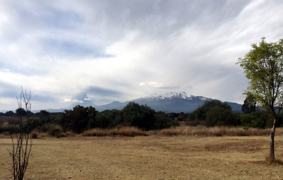 Mexico's Volcanoes: King & Team Arrive Mexico City, Weathered off La Malinche