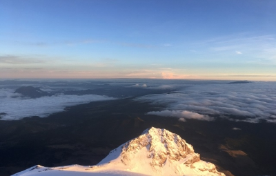 Mexico's Volcanoes: King & Team Reach Summit of Orizaba