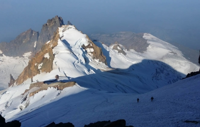 Mt. Baker: Walter & Team Summit Via the North Ridge!