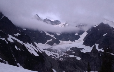 North Cascades: Frank & Team Turn Around on Mount Shuksan