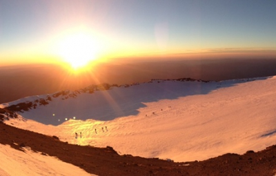 Mt. Rainier: Frank & Team Summit!