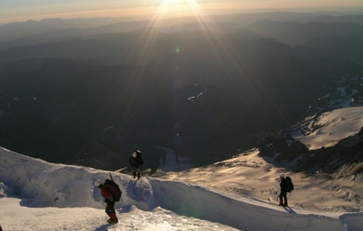 Mt. Rainier: June 29th Five Day Summit Climb - SUMMIT!