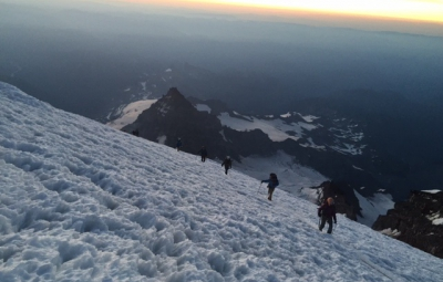 Mt. Rainier: Justman, King & Teams on the Summit!