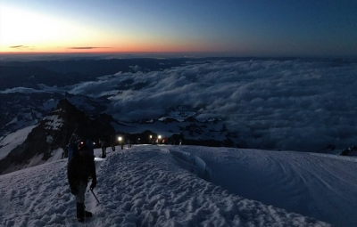 Mt. Rainier: July 13th Summit!