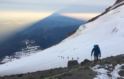 Mt. Rainier: Bond & Kautz Seminar Reach Summit with Entire Team