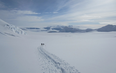 Vinson Massif: Team Descends to Base Camp