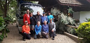 Kilimanjaro: Okita & Team Enjoy Challenges and Luxuries on the Mountain